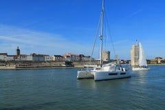 Puerto viejo de La Rochelle, Francia Foto de archivo