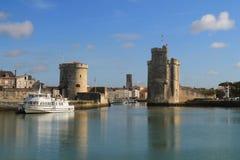 Puerto viejo de La Rochelle, Francia Fotografía de archivo libre de regalías