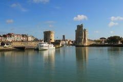 Puerto viejo de La Rochelle, Francia Imagenes de archivo