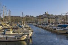 Puerto viejo de Marsella Imagenes de archivo