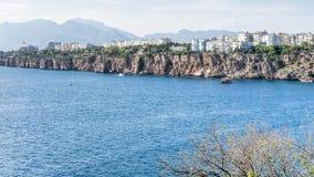 Puerto viejo en Antalya, Turquía fotografía de archivo