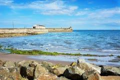 Puerto viejo en Kirkcaldy, Escocia Foto de archivo libre de regalías