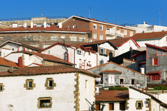Puerto Viejo houses in Getxo, Basque Country, Spain Stock Images