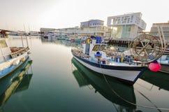 Puerto viejo, Limassol, Chipre Foto de archivo