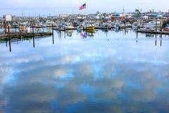 Puerto Washington State de los grises de Westport fotos de archivo libres de regalías