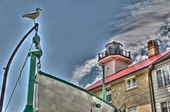 Puerto Washington, WI Fotos de archivo libres de regalías