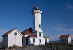 Puerto Wilson Lighthouse Fotografía de archivo