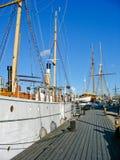 Puerto y mar Báltico de Estocolmo fotografía de archivo libre de regalías