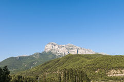 Puertolas Peak at Huesca, Spain Royalty Free Stock Image