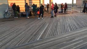 Puertorikanische Musik auf Promenade, Brighton Beach Lizenzfreie Stockfotografie