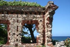 Puertorikanische Ruine Stockfotografie