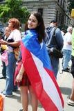 Puertorikanische Straßen-Parade Stockbilder
