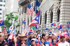 Puertorikanische Tagesparade Lizenzfreie Stockbilder