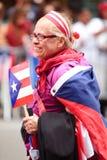 Puertorikanische Tagesparade Stockfotos