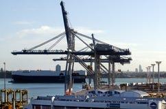 Puertos de Auckland Fotos de archivo