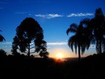 Puesta del sol 01 Fotos de archivo libres de regalías
