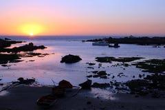 Puesta del sol 10 de la bahía de Jacobs Fotografía de archivo libre de regalías