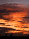 Puesta del sol [2] Foto de archivo libre de regalías