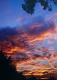 Puesta del sol A 3-07 Imagen de archivo