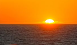 Puesta del sol 2 Foto de archivo libre de regalías