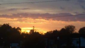 Puesta del sol 1 Fotos de archivo