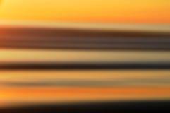 Puesta del sol abstracta. Fotos de archivo