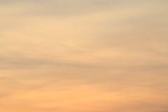 Puesta del sol abstracta Fotos de archivo libres de regalías