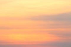Puesta del sol abstracta Imagen de archivo