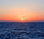 Puesta del sol Australia foto de archivo