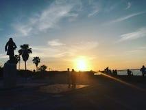 Puesta del sol Cuba de Melecon fotos de archivo libres de regalías