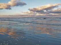 Puesta del sol de Daytona Beach fotografía de archivo libre de regalías
