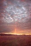 Puesta del sol de Kentucky Fotos de archivo
