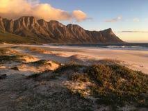 Puesta del sol de la bahía de Kogel foto de archivo libre de regalías