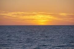 Puesta del sol de la Florida Fotos de archivo libres de regalías