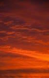 Puesta del sol de la imagen casera 1 Foto de archivo libre de regalías