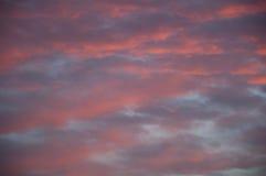 Puesta del sol de la imagen casera 1 Fotografía de archivo libre de regalías
