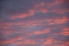 Puesta del sol de la imagen casera 1 Imagen de archivo