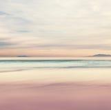 Puesta del sol de la isla de canal Imagen de archivo libre de regalías