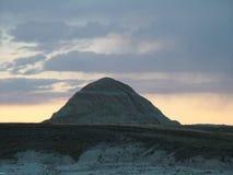 Puesta del sol de la montaña Imágenes de archivo libres de regalías