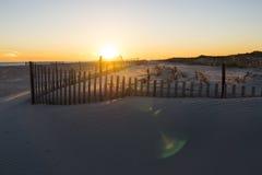 Puesta del sol 6 de la playa Fotografía de archivo libre de regalías