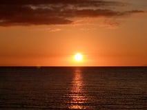 Puesta del sol de Marinduque foto de archivo