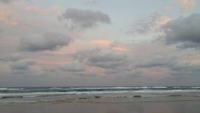 Puesta del sol de Mozambique Fotografía de archivo