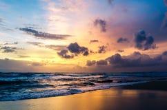 Puesta del sol de Phu Quoc Fotos de archivo
