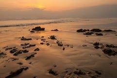 Puesta del sol de Santa Teresa Fotografía de archivo libre de regalías