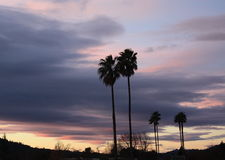 Puesta del sol 10 del valle de Rincon Imagenes de archivo