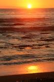 puesta del sol doble Imagen de archivo