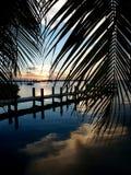 Puesta del sol dominante del Largo Fotografía de archivo libre de regalías