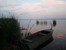Puesta del sol en el lago Nero fotos de archivo libres de regalías