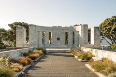 Puesta del sol en el monumento de Massey Fotografía de archivo