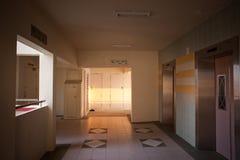Puesta del sol en el pasillo de HDB Fotografía de archivo libre de regalías